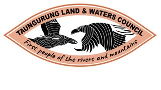 Taungurung Land & Waters Council logo - First people of the rivers and mountains