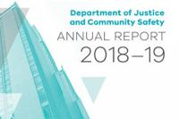 Department of Justice and Community Safety's 2018-19 Annual Report