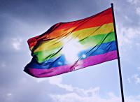 LGBTIQ rainbow pride flag